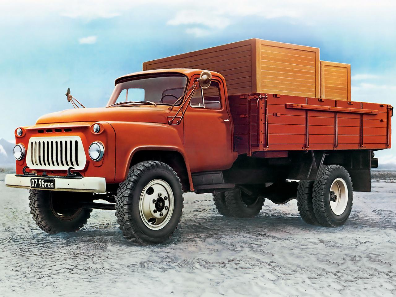 Original GAZ 53